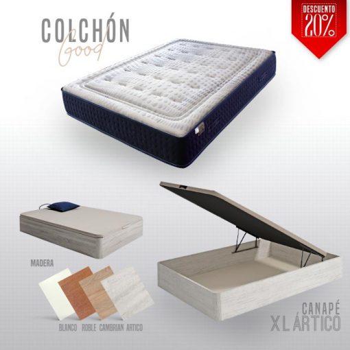 Pack Canape XL y Colchón Good