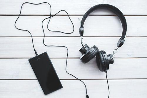 Escuchar musica antes de dormir
