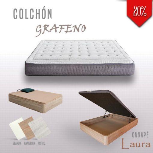 Canapé Laura Colchón Grafeno